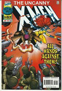 Uncanny X-Men #333 Marvel Comics 1996