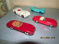 vintage diecast cars job lot Dinky, Corgi very good / excellent originals