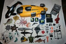 Toys R Us Animal Planet Submarine Killer Whale Shark Cage Octopus Sea Turtle Etc