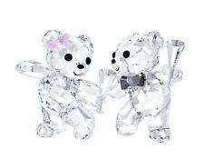 Swarovski Kris Bear Let's Celebrate, couple love crysta Figurine  5063325