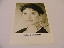 AMELIA BULLMORE Signed Photo Autograph TV Actress Writer Scott and Bailey
