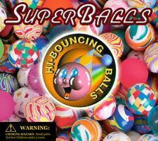 50 Vending Machine Capsule Toys - Self Vending 45mm Hi-Bouncing Super Balls