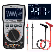 Upgraded MUSTOOL MT8206 2 in 1 Digital Intelligent Oscilloscope Multimeter AC/DC