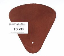 Hickory Scrap Leather Craft Piece aprox. .25 sqft Td242