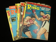 Lot of 11 The Ring Magazines - Muhammad Ali Covers - 1966-76