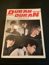 1981 Duran Duran Words and Music With Guitar Boxes Sheet Music Book