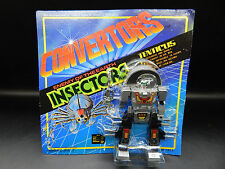 MOC vintage CONVERTORS Insectors sealed 1984 Select robot insecticon TENTICUS !!