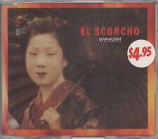 WEEZER US Alt College Rock EL SCORCHO 2 track CD Single 1996