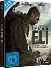 THE BOOK OF ELI (Denzel Washington) Blu-ray Disc, Steelbook NEU+OVP