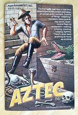 Aztec by Datamost with 5.25 inch disk for Apple II+,IIe,IIc,IIgs 1982