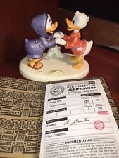 DONALD DAISY DUCK POMP AND CIRCUMSTANCE WALT DISNEY GOEBEL DISNEYANA CONVENTION