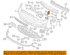 FORD OEM 13-14 Mustang Front Bumper-End Cover DR3Z8C391B