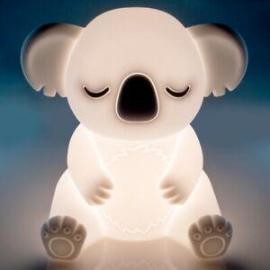 ~❤️~KOALA NIGHT LIGHT Rechargeable USB Soft/Cool touch LED white glow~❤️~