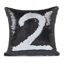 Reversible Sequin Mermaid Sequin Pillow Case Magical Color Home Decor Sofa Cover