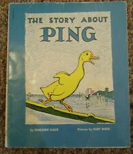 The Story About Ping Marjorie Flack Kurt Wiese 1961 Paperback