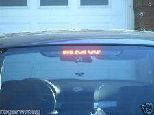 BMW E46 3-Series 3rd brake light decal overlay 2002