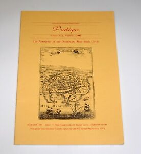 Pratique The Newsletter of the Disinfected Mail Study Circle 2000 Philatelic