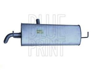 Exhaust Back / Rear Box fits NISSAN QASHQAI J10 1.6 07 to 13 HR16DE