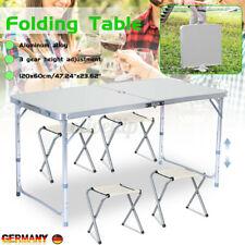 EU Campingtisch Klapptisch Gartentisch Aluminium Picknicktisch Koffertisch Tisch