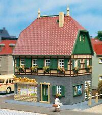 Auhagen 12347 Spur H0 / TT Wohnhaus mit Laden #NEU in OVP#