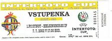 Ticket - 1FC Synot v Helsingborgs IF 07.07.2002 Intertoto Cup