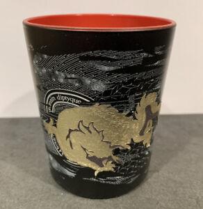 DIPTYQUE - Empty Candle Jar  - 6.5oz Glass Jar - Black & Gold
