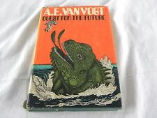 Quest for the Future A. E. Van Vogt HC DJ 1970 Science Fiction VG condition  Boo