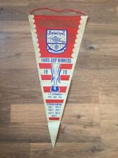 Pennant: Arsenal Fairs Cup Winners 1970 Number 2