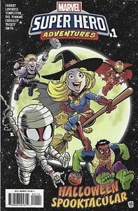 Marvel Super Hero Adventures Captain Marvel Halloween Spooktacular Comic 1 2018
