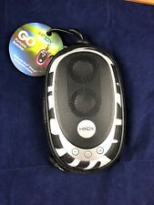 On The Go HMDX Portable Speaker For iPod iPhone & Other MP3s NEW Zebra Print