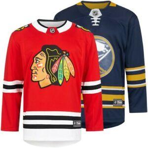 Chicago Blackhawks Buffalo Sabres Fanatics Breakaway Men's Ice Hockey Jersey New