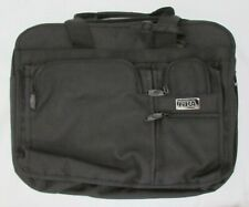 New NRA Black Nylon Briefcase Expandable Laptop Office Bag