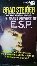 Strange Powers Of ESP Steiger Supernatural Occult Psychic Power 1969 OOP Rare!