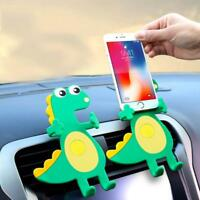 Cartoon Animal Shape Air Outlet Car Holder For Mobile Phone W