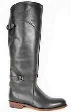 FRYE BOOTS Dorado Riding Dark Brown Leather Riding Boots 77561 SZ 8.5  $458
