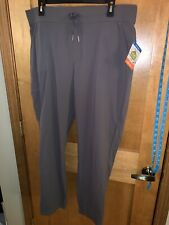 NWT Columbia Women's Climber Canyon Casual Ankle Pant - Grey - size XLarge