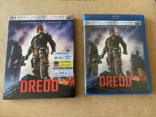 Dredd 3D Region Free Blu Ray NEW & SEALED with Slipcase Rare Judge Dredd 2000AD