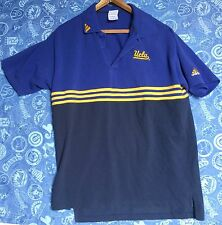 Adidas Vintage UCLA  Blue Men's Size XL 2 tone shirt with stripes