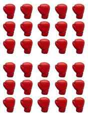 30 Boxing Glove Edible Rice Paper Cake Cupcake Toppers Decorations