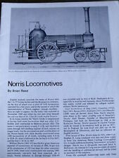 Loco Profile n°11 NORRIS LOCOMOTIVES -- NO COVER!!