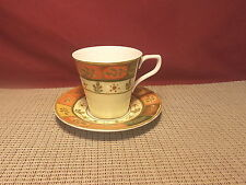 Sasaki China Beaux Pattern Cup & Saucer Set