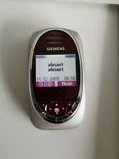 Siemens SL55 Red Unlocked Mobile Phone - used great condition collectors phone
