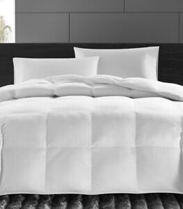 Hotel Collection Luxe Down Alternative 450 TC Cotton Full / Queen Comforter $400