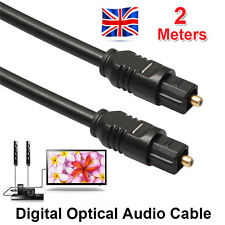 2M 6 FT Digital Fiber Optical Optic Audio SPDIF MD DVD TosLink Cable Lead Cord