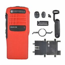 Red Replacement Case Housing for motorola PRO5150 Portable radio