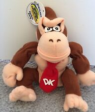 BD&A 1997 Nintendo 64 Beanbag Plush Donkey Kong Mint - USA SHIPPED