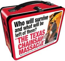 New listing The Texas Chainsaw Massacre Vintage Style Metal Lunch Box