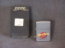 Zippo Lighter Hard Rock Cafe 30 Years Anniversary Washington D C 2001 New
