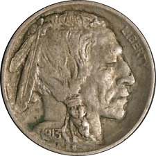 1913-D Ty 2 Buffalo Nickel Choice XF Details Superb Eye Appeal Strong Strike