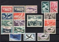 PP134165/ FRANCE AIRMAIL / COLLECTION 1930 – 1960 MINT MH CV 380 $